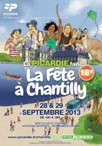 La Picardie fait la fête à Chantilly