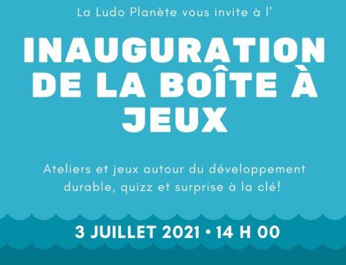 Inauguration de la Boîte à jeux à Saint Lucien