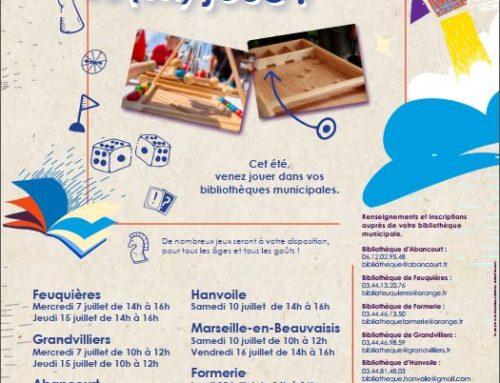 Animation jeux dans les médiathèques de Picardie verte